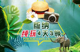 【纯玩0购物】西双版纳双飞3日游(植物园/野象谷/原始森林公园自由组合)